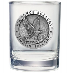 Air Force Academy Double Old Fashioned Glass