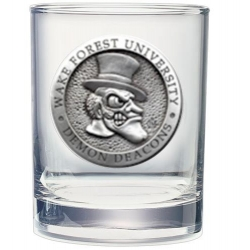 "Wake Forest University ""Demon Deacons"" Double Old Fashioned Glass"