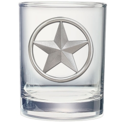 Lone Star Double Old Fashioned Glass