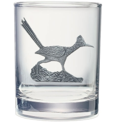 Road Runner Double Old Fashioned Glass