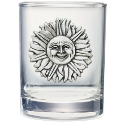 Sunface Double Old Fashioned Glass