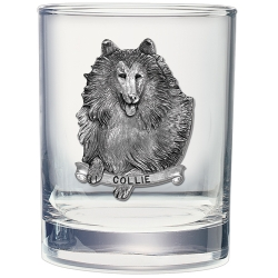 Collie Double Old Fashioned Glass