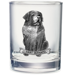 Saint Bernard Double Old Fashioned Glass