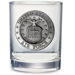 Air Force Double Old Fashioned Glass