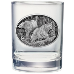 Black Bear Double Old Fashioned Glass #2
