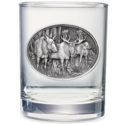 Moose Double Old Fashioned Glass #2