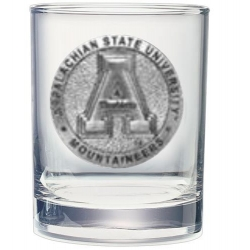 Appalachian State University Double Old Fashioned Glass