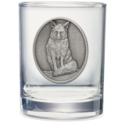 Fox Double Old Fashioned Glass
