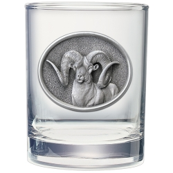 Chadwick Ram Double Old Fashioned Glass