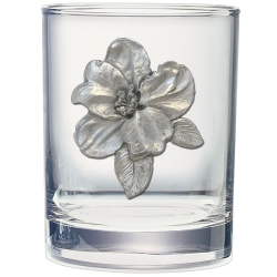 Apple Blossom Double Old Fashioned Glass