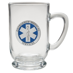 EMS Clear Coffee Cup - Enameled