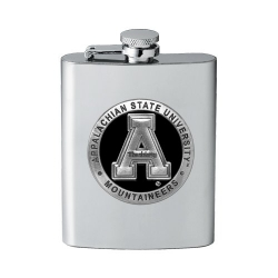 Appalachian State University Flask - Enameled