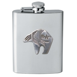 Bear Fetish Flask