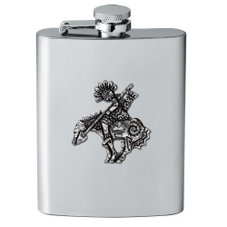 End of the Trail Flask