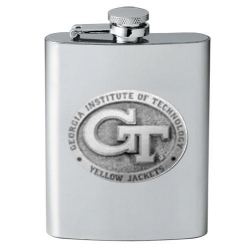 "Georgia Institute of Technology ""GT"" Flask"