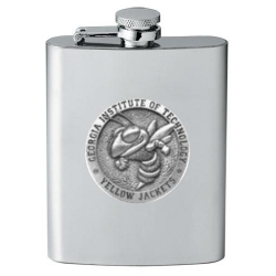 "Georgia Institute of Technology ""Yellow Jackets"" Flask"