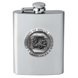 "University of South Carolina ""Gamecocks"" Flask"