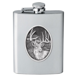 Whitetail Deer Flask #2