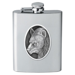 Black Bear Flask #2