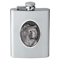 Grizzly Bear Flask #2