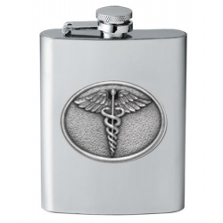 Caduceus Flask