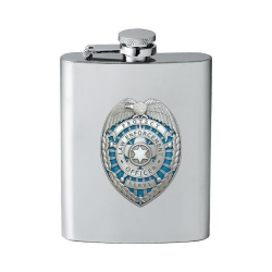Law Enforcement Flask - Enameled