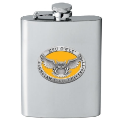 Kennesaw State University Flask - Enameled