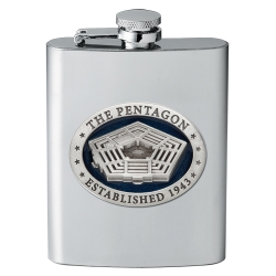 Pentagon Flask - Enameled
