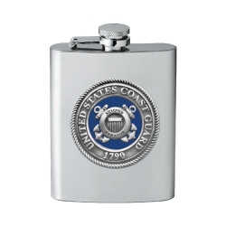 Coast Guard Flask - Enameled
