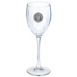 Law - Scales of Justice Wine Glass