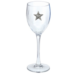 Lone Star Wine Glass