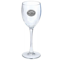 University of New Mexico Wine Glass