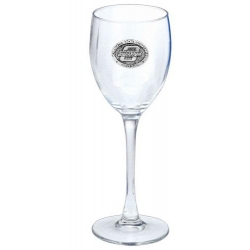 Oklahoma State University Wine Glass