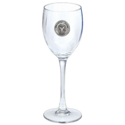 Navy Wine Glass