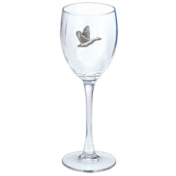 Canadian Goose Wine Glass