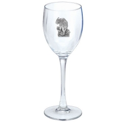 Mountain Goat Wine Glass