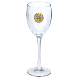 "Georgia Institute of Technology ""Yellow Jackets"" Wine Glass - Enameled"