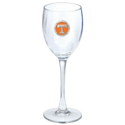 University of Tennessee Wine Glass - Enameled