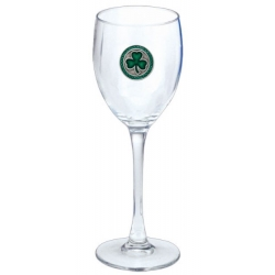 Clover Wine Glass - Enameled