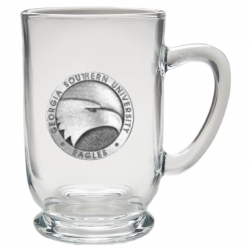 Georgia Southern University Clear Coffee Cup