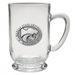 Kansas State University Clear Coffee Cup