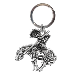 End of the Trail Key Chain