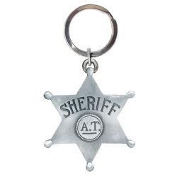 Sheriff Key Chain