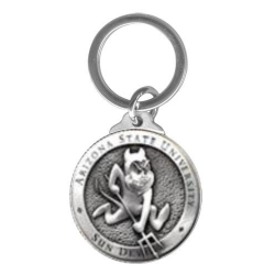 "ASU ""Sparky"" Key Chain"