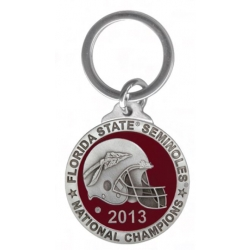 2013 BCS National Champions Florida State Seminoles Key Chain - Enameled