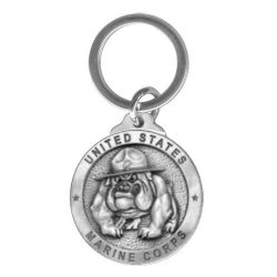 "Marine Corps ""Bulldogs"" Key Chain"