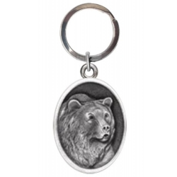 Grizzly Bear Key Chain #2