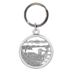Loon Key Chain