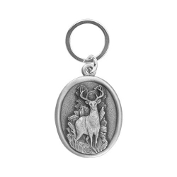 Whitetail Deer Key Chain