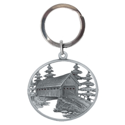 Covered Bridge Key Chain